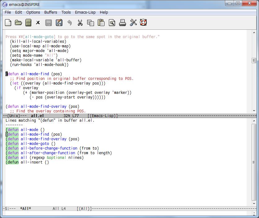 Emacsのトラノマキ」連載第11回「Emacsをもっと快適にするElisp